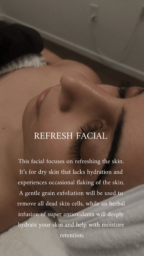 REFRESH – HYDRATING FACIAL
