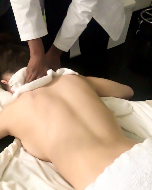 TRANQUIL BACK FACIAL