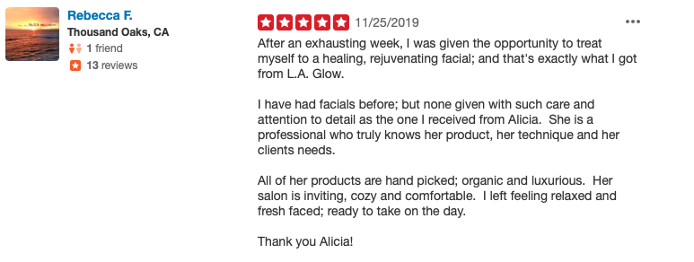 client reviews yelp