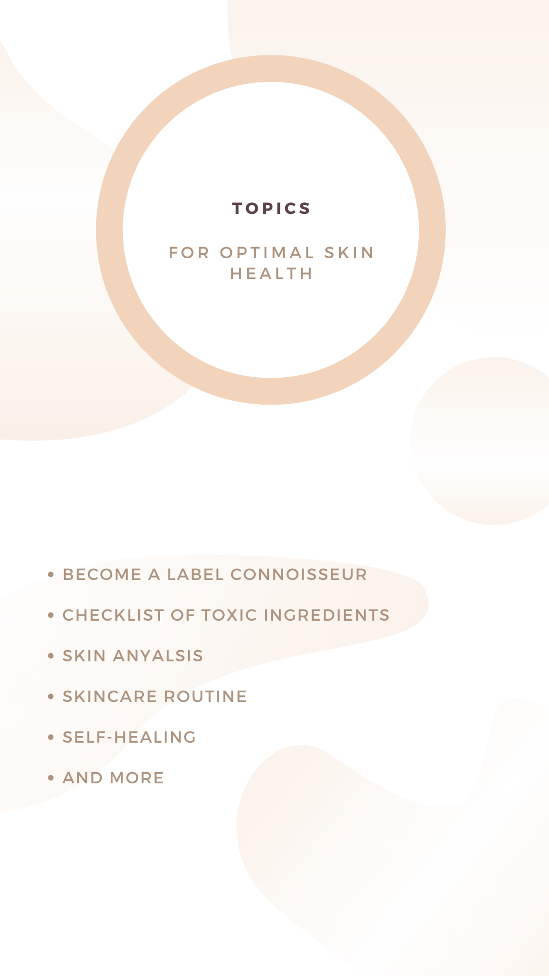 The L.A. Glow Clear Skin Guide via Consultation Questionnaire